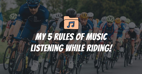 Music while cycling