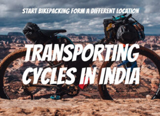Transporting cycles in India