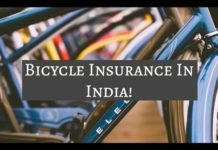 Insurance of cycles in India