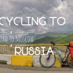 Indian Cyclist In Russia