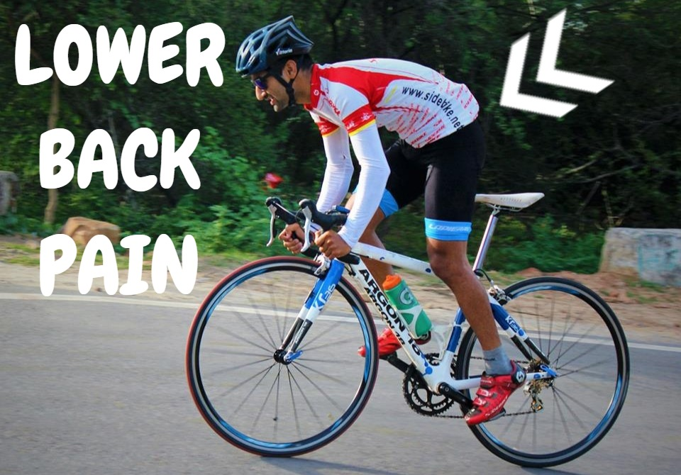 Lower Back Pain While Cycling!