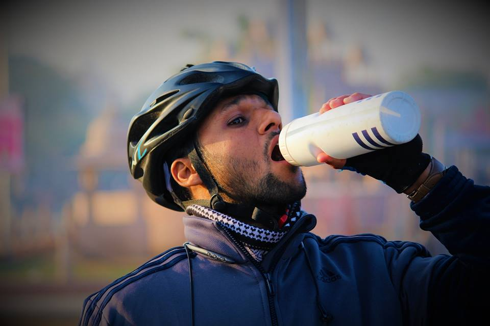 Hydration support while cycling!