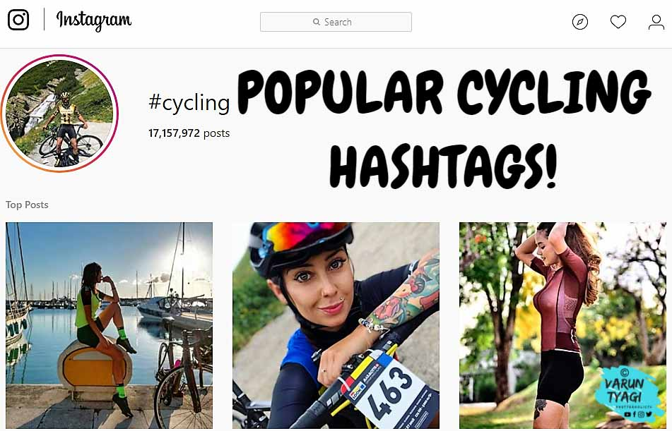 Cycling Hashtags Optimize Your Post For Maximum Engagement