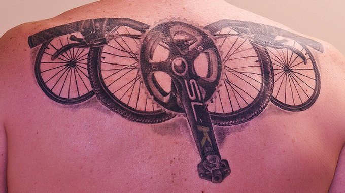 Bicycling Tattoos for cyclists