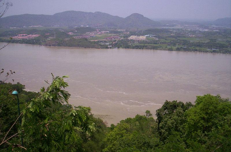 Brahmputra river