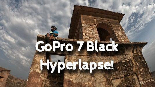 GoPro 7 hyperlapse or timewrap