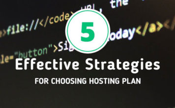 5 strategies to choose a hosting plan for your website