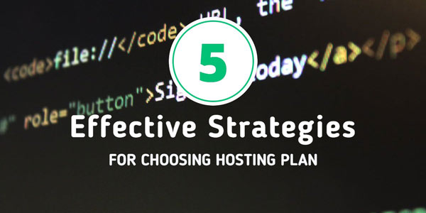 A comprehensive guide for purchasing a hosting plan