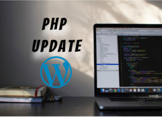 php update in wordpress