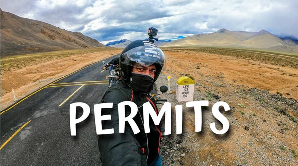 Road Permits from Manali to Ladakh