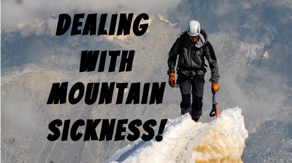 Health Advisory - Mountain Sickness