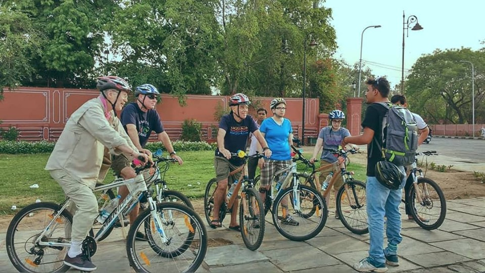 bicycles on rent & guided Jaipur Cycle Tours