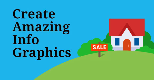 Creating info graphics and embedding your page link is an effective way of getting web traffic.