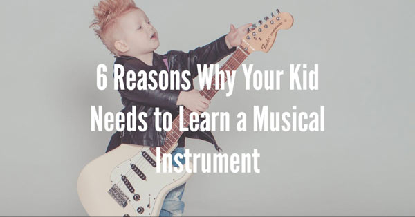Musical Instrument for kids and why are they important