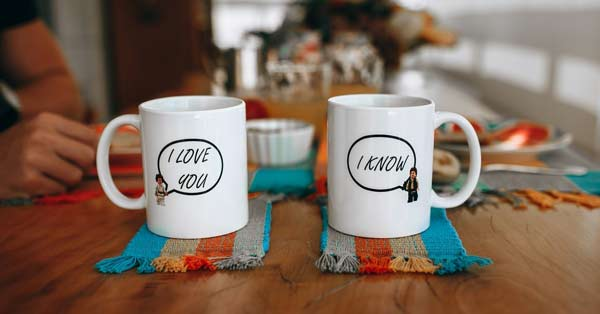 A printed coffee mug with a message or picture printed on top of it describing an aspect of your friend can be a great gift