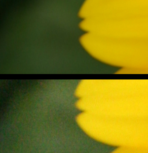 Difference in using high ISO and low ISO