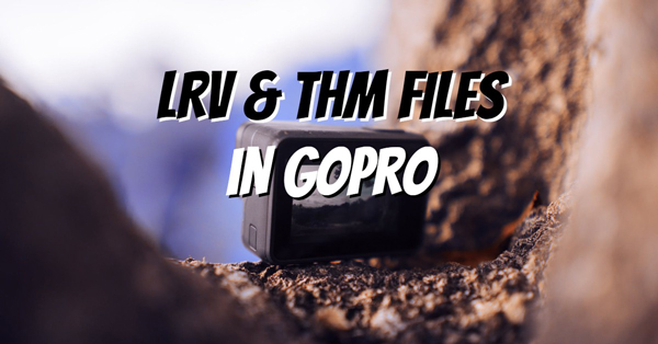 LRV & THM Files in GOPRO