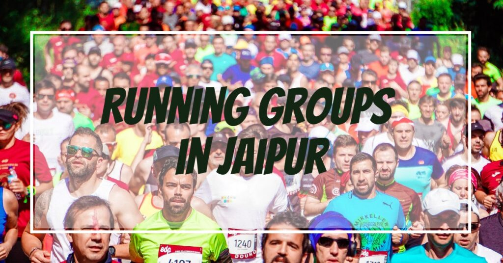 Running groups in Jaipur