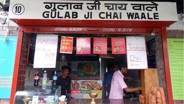 Gulab Ji chai wale at Ganpati plaza Jaipur
